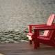 Adirondack Chairs on Dock